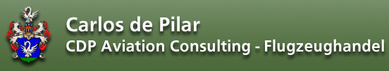 Carlos de Pilar - CDP Aviation Consulting - Flugzeughandel